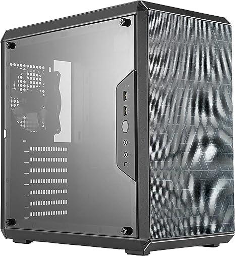 Cooler Master MasterBox Q500L – Caja de Ordenador ATX Mini Torre con Vista Total Panel Lateral, Cableado Ordenado y Múltiples Opciones Enfriamiento: Cooler: Amazon.es: Informática