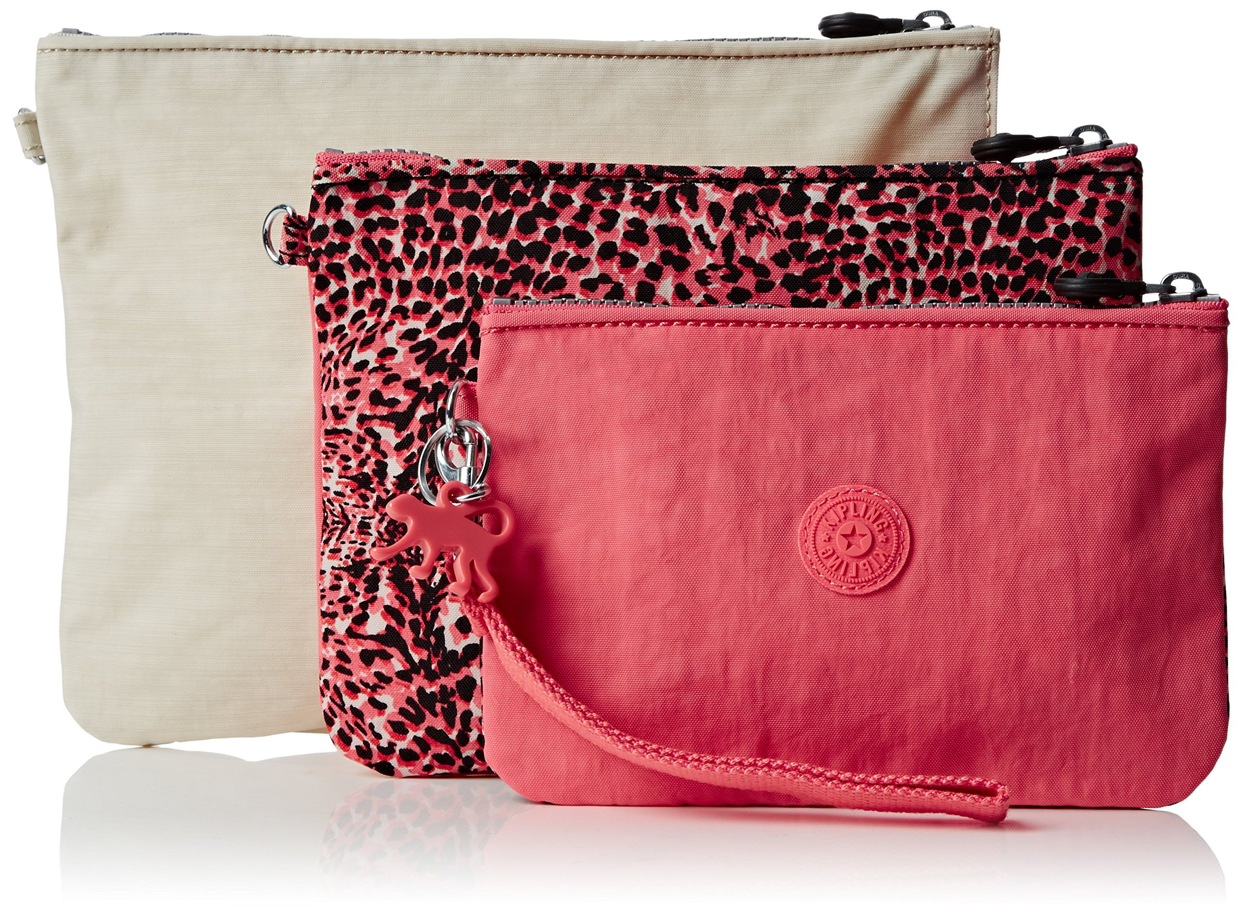 Kipling Womens Iaka L Wristlet Bag Organiser Fiesta Animal, One Size