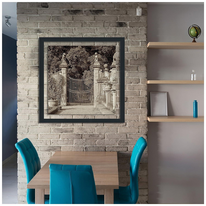 Picture Perfect International Alan Blaustein Tuscany #11 Framed Plexiglass D/écor Wall-Decor 27.5 x 27.5 x 0.75