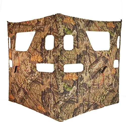 RHINO Blinds CRC-105 Cut N Run Lightweight 2 Panel Mobile Hunting Blind