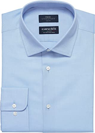 next Hombre Camisa Textura Canclini Signature Corte Regular ...