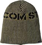 [ボルコム] [メンズ] ニットキャップ (ビッグロゴ) [ J5851909 / Utility Beanie ] 帽子 スノーボード MIL_ミリタリー US O/S (FREE サイズ)