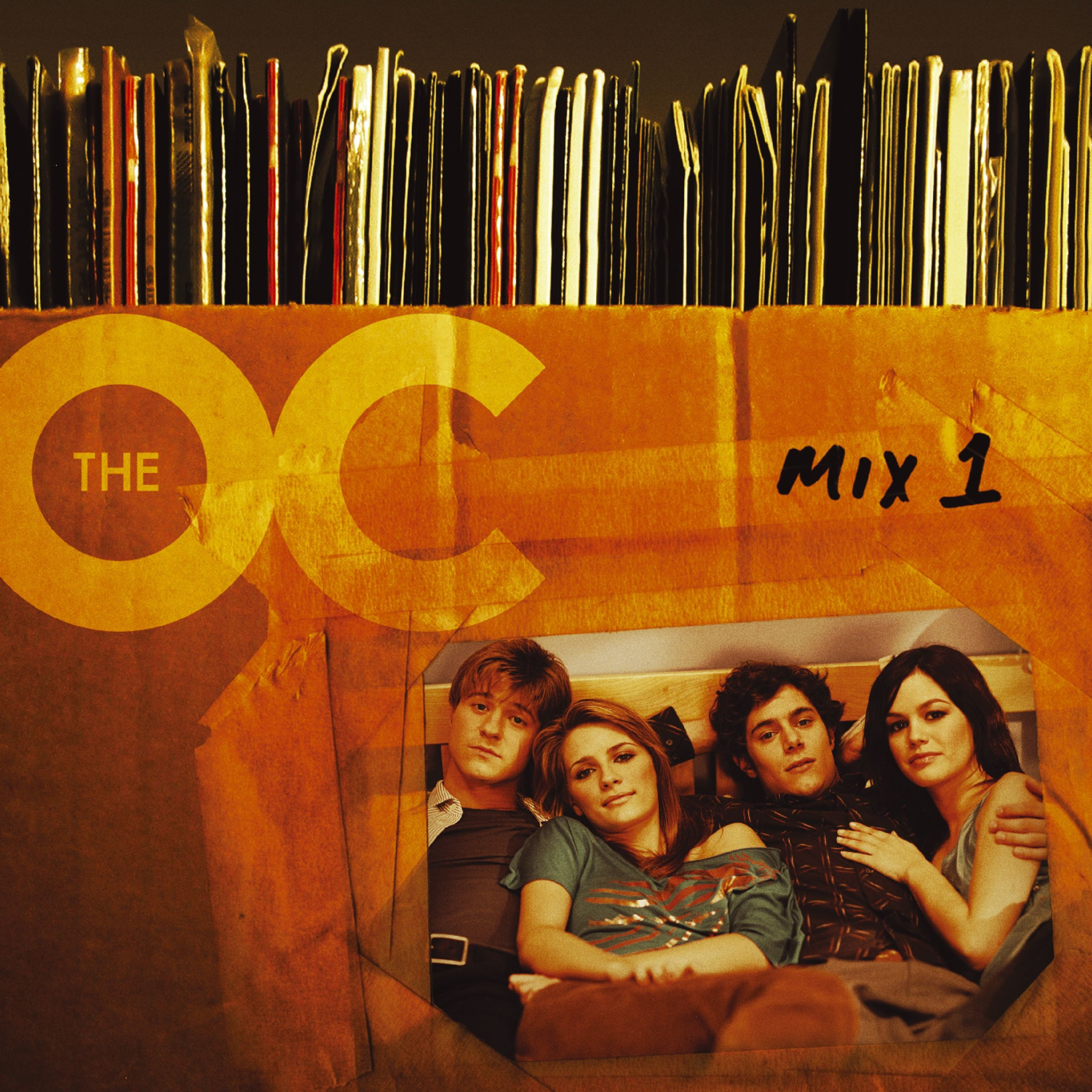CD : Various Artists - Music From The O.c. Mix 1 (original Soundtrack) (Enhanced)