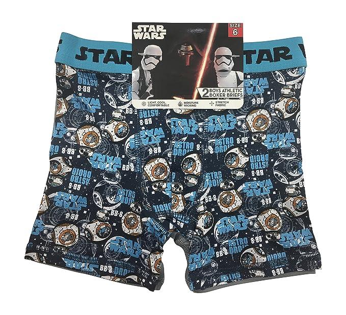 Star Wars Boys Boxer Briefs Underwear 2-pack Size 8