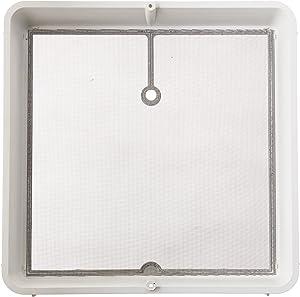 "Heng's 90106-C1 Roof Vent Screen Frame, 14"" x 14"" - White"