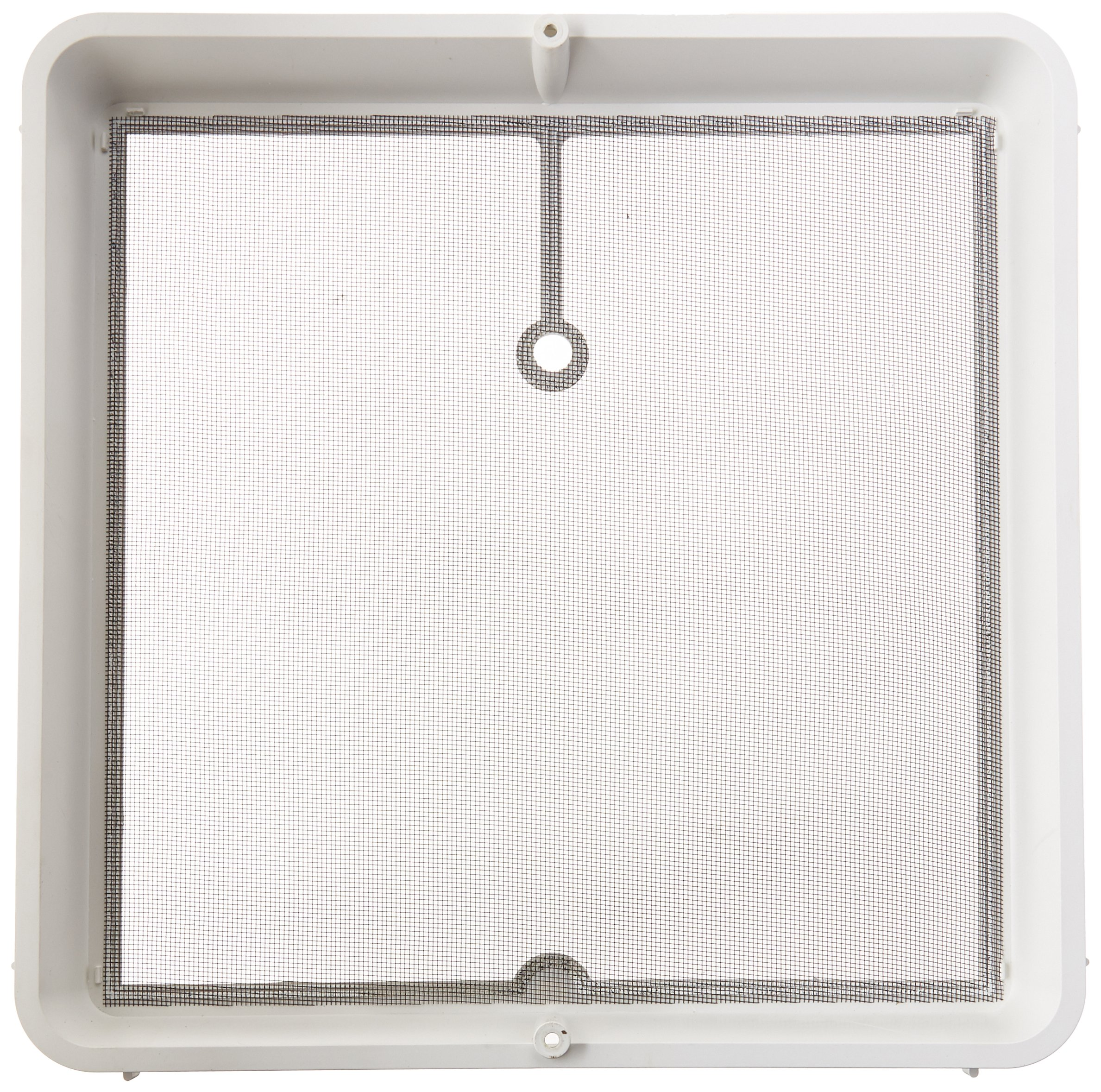 Heng's 90106-C1 Roof Vent Screen Frame, 14'' x 14'' - White by Heng's