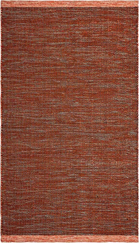 Fab Habitat, Indoor Outdoor Floor Rug – Handwoven, Made from Recycled Plastic Bottles – Kingscote – Apricot 8 x 10