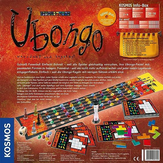 Kosmos - Juego de mesa, de 2 a 4 jugadores (696184) (importado ...