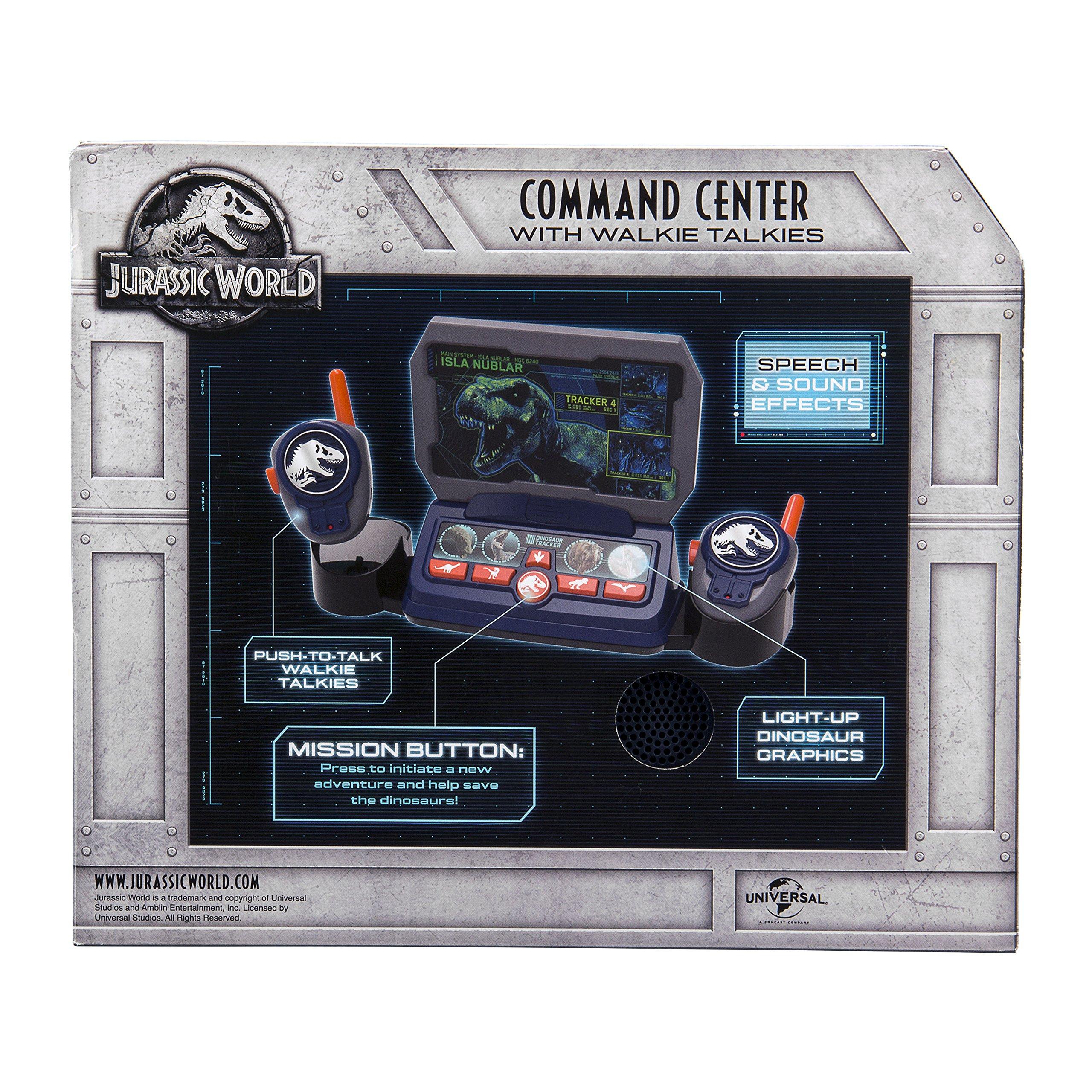 eKids Jurassic World 2 Command Center with Kid Friendly Walkie Talkies and Speech & Sound Effects by eKids (Image #6)