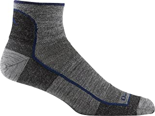 product image for Darn Tough Men's Merino Wool 1/4 Ultra-Light Athletic Socks - 6 Pack Special