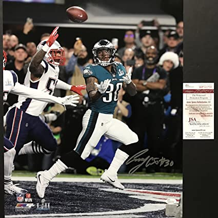 Image Unavailable. Image not available for. Color  Autographed Signed Corey  Clement Philadelphia Eagles ... b277460d2