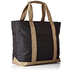 Tote Bag M T234: Black / Beige