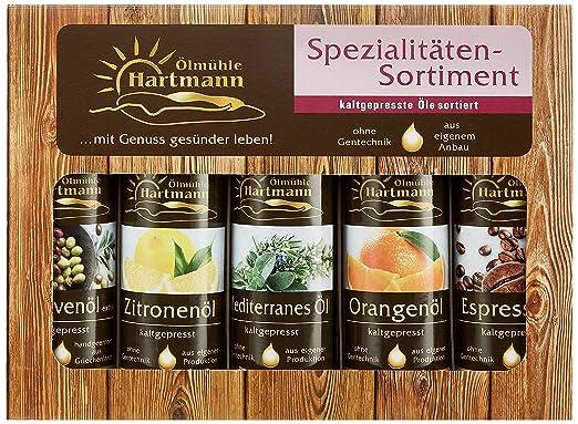 Ölmühle Hartmann Mini Sortiment rot, Set 500ml (5x 100 ml): Amazon ...