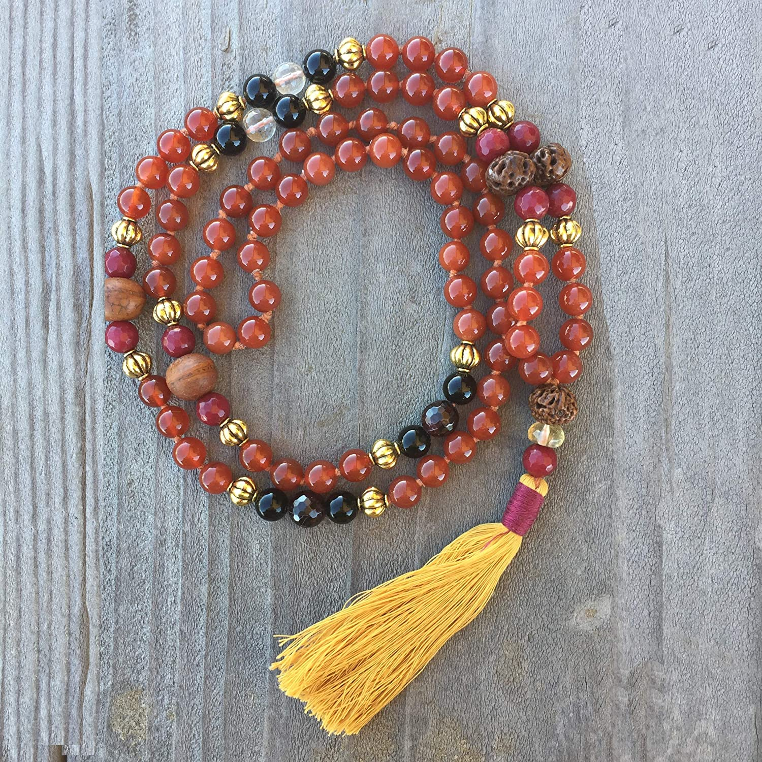 ite Mala 108 Beads Electromagnetic Filtering Stone