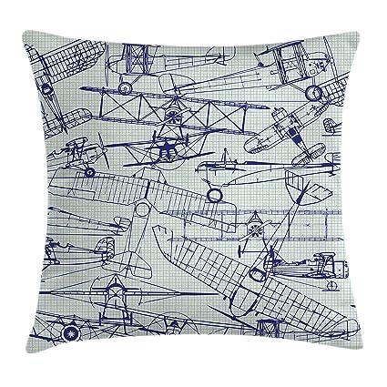 Airplane Decorative Pillow