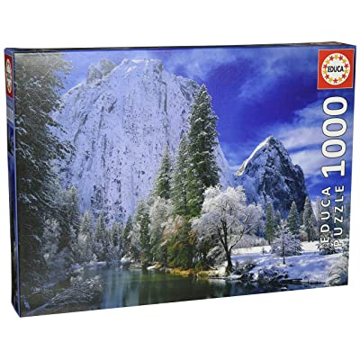 Educa Yosemite Park Winter 1000-Piece Puzzle: Toys & Games