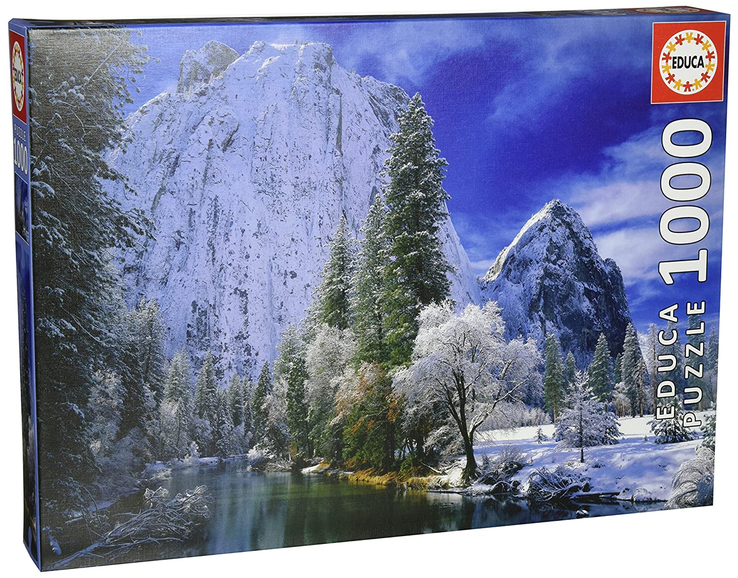 Yosemite Park Winter 1000-Piece Puzzle by Educa