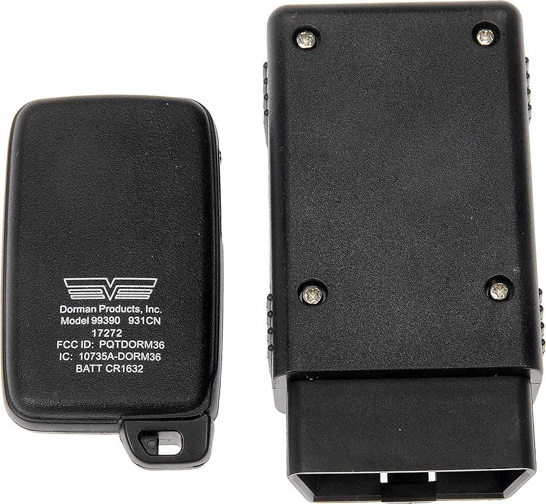 OE FIX Dorman 99390 Keyless Entry Transmitter for Select Toyota Models