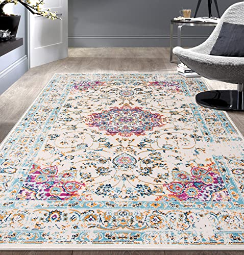 Rugshop Traditional Persian Area Rug 7 10 x 10 Pink