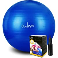 Coolwoo Exercise 65cm Yoga Ball