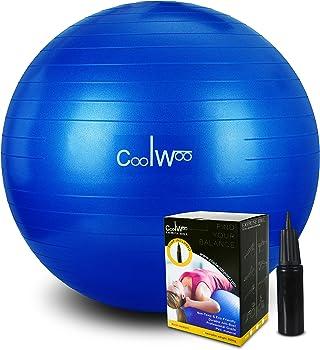 Coolwoo Exercise 65cm Yoga Ball