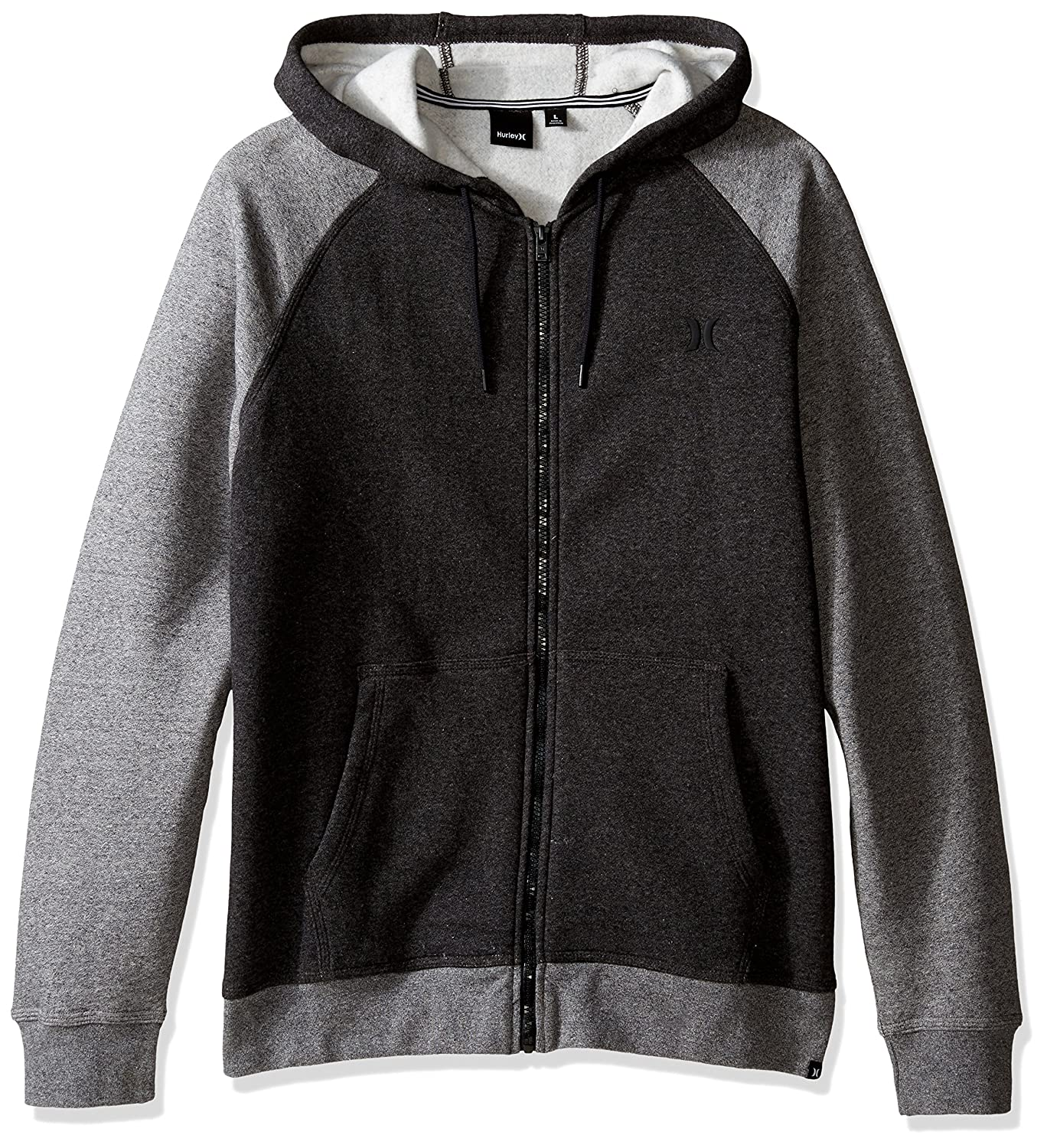 Hurley Getaway 2.0 Fleece Men's Full-Zip Hoodies Black