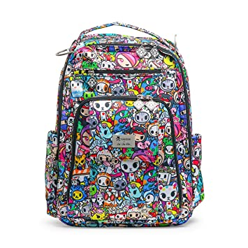 685d85f4363d JuJuBe Be Right Back Multi-Functional Structured Backpack/Diaper Bag,  Tokidoki Collection - Iconic 2.0