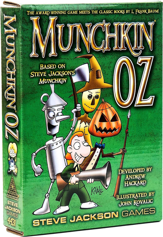 Steve Jackson Games SJG04431 Munchkin Oz - Juego de Cartas: Amazon.es: Juguetes y juegos