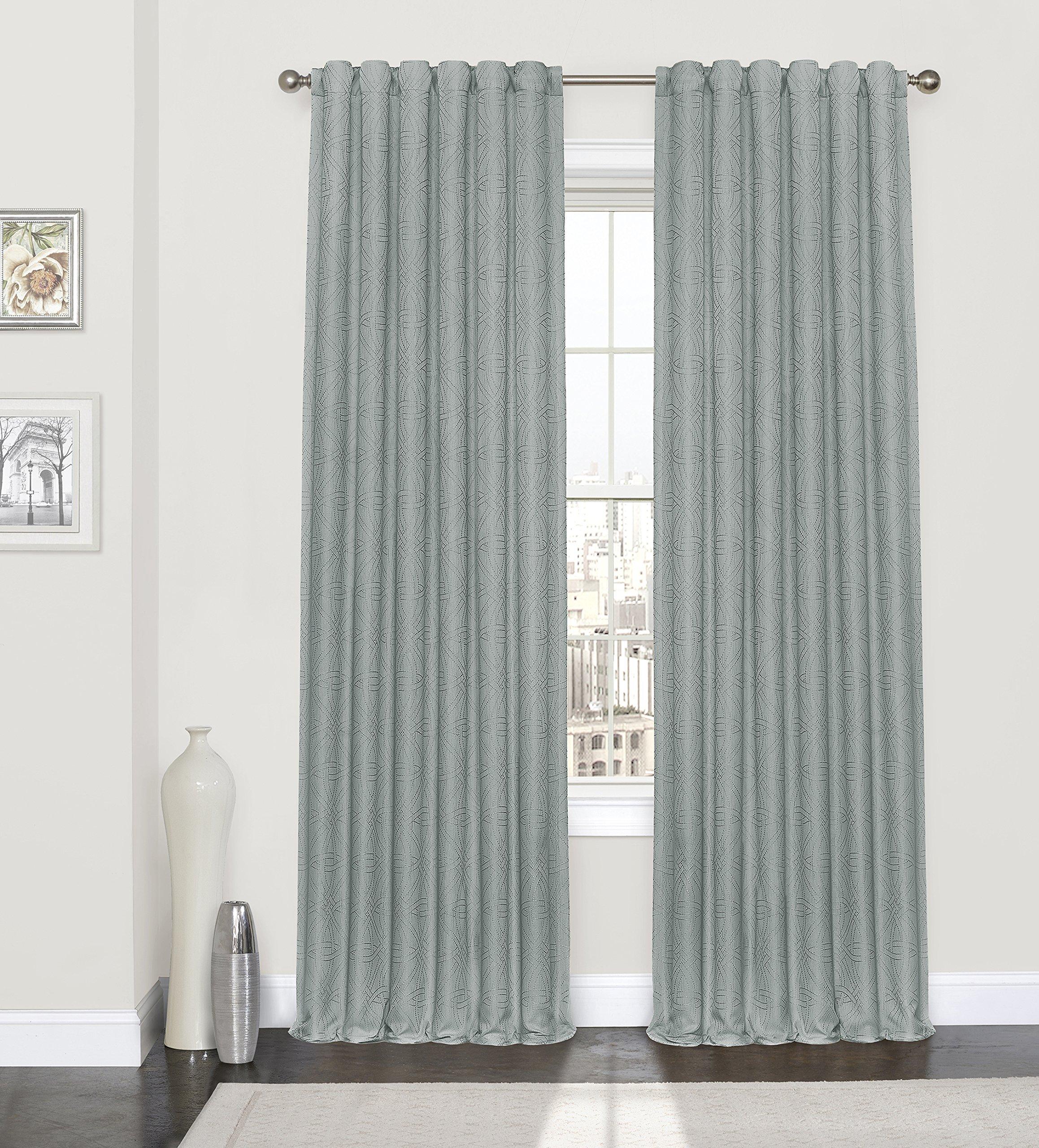 Eclipse Kiernan Window Curtain, 52x84, Spa
