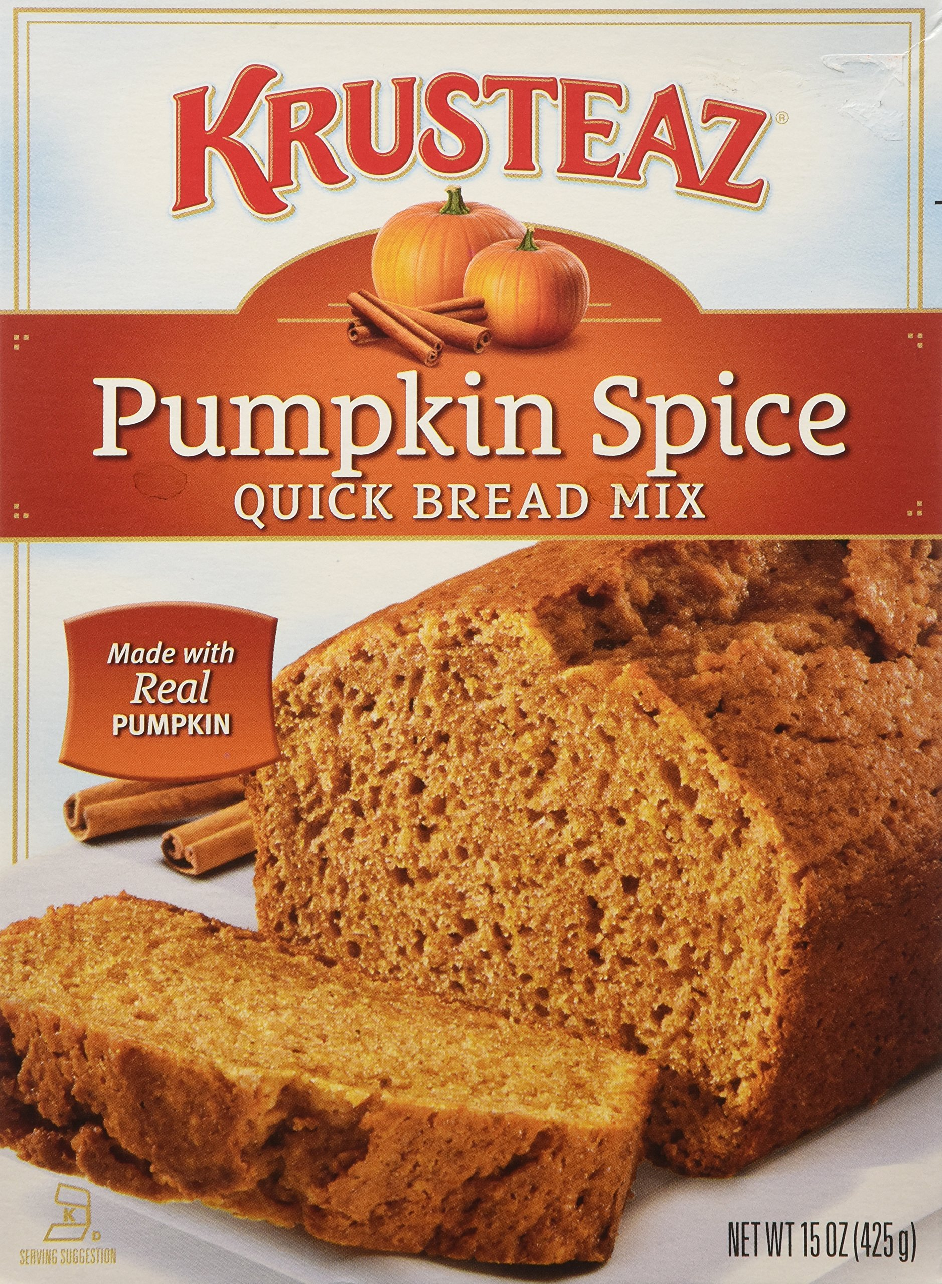 Spice Cake Mix Pumpkin Bread