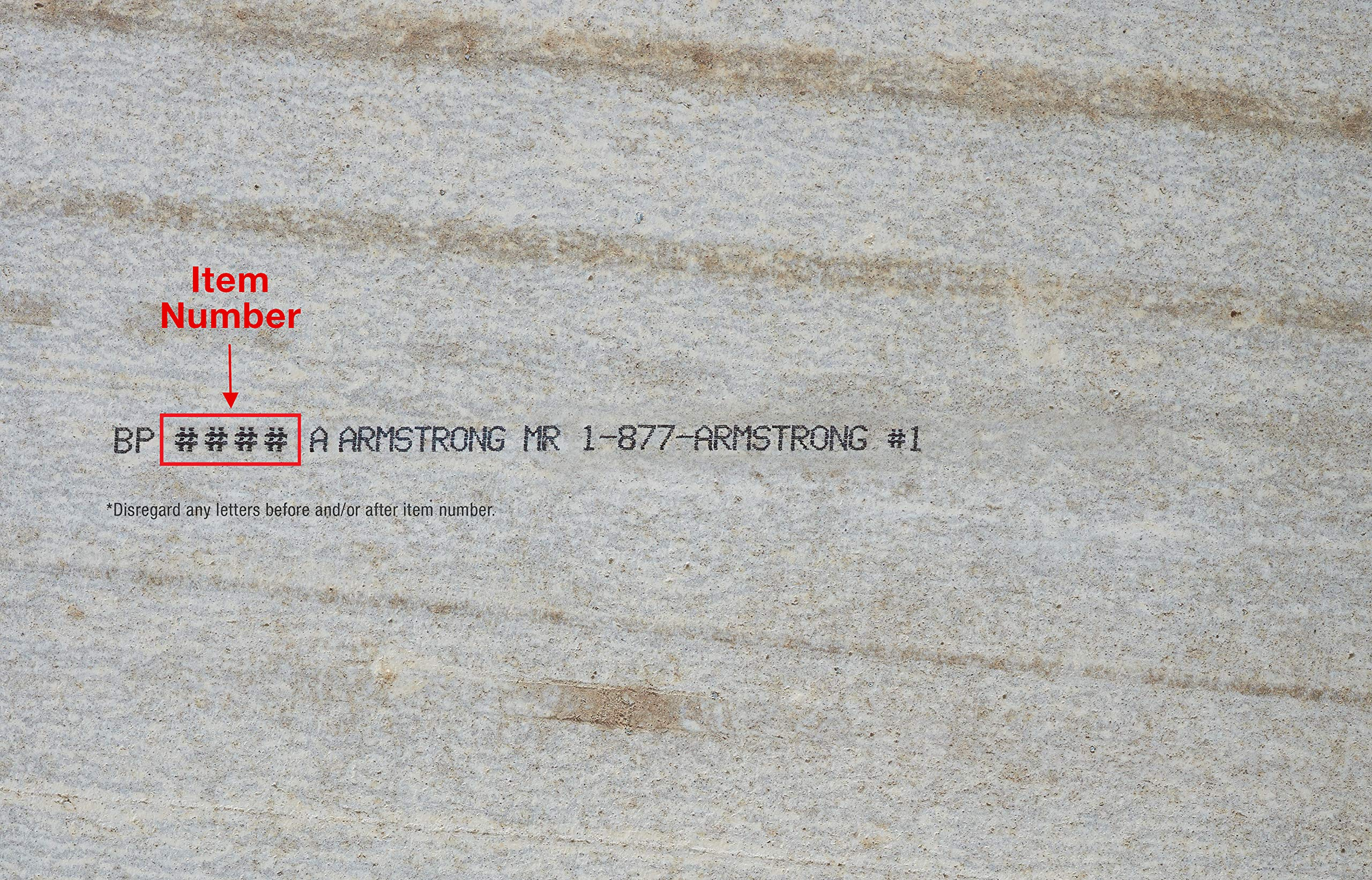 Armstrong Ceiling Tiles; 2x2 Ceiling Tiles - Acoustic Ceilings for Suspended Ceiling Grid; Drop Ceiling Tiles Direct from the Manufacturer; CORTEGA Item 704 - 16 pc White Tegular by Armstrong (Image #4)
