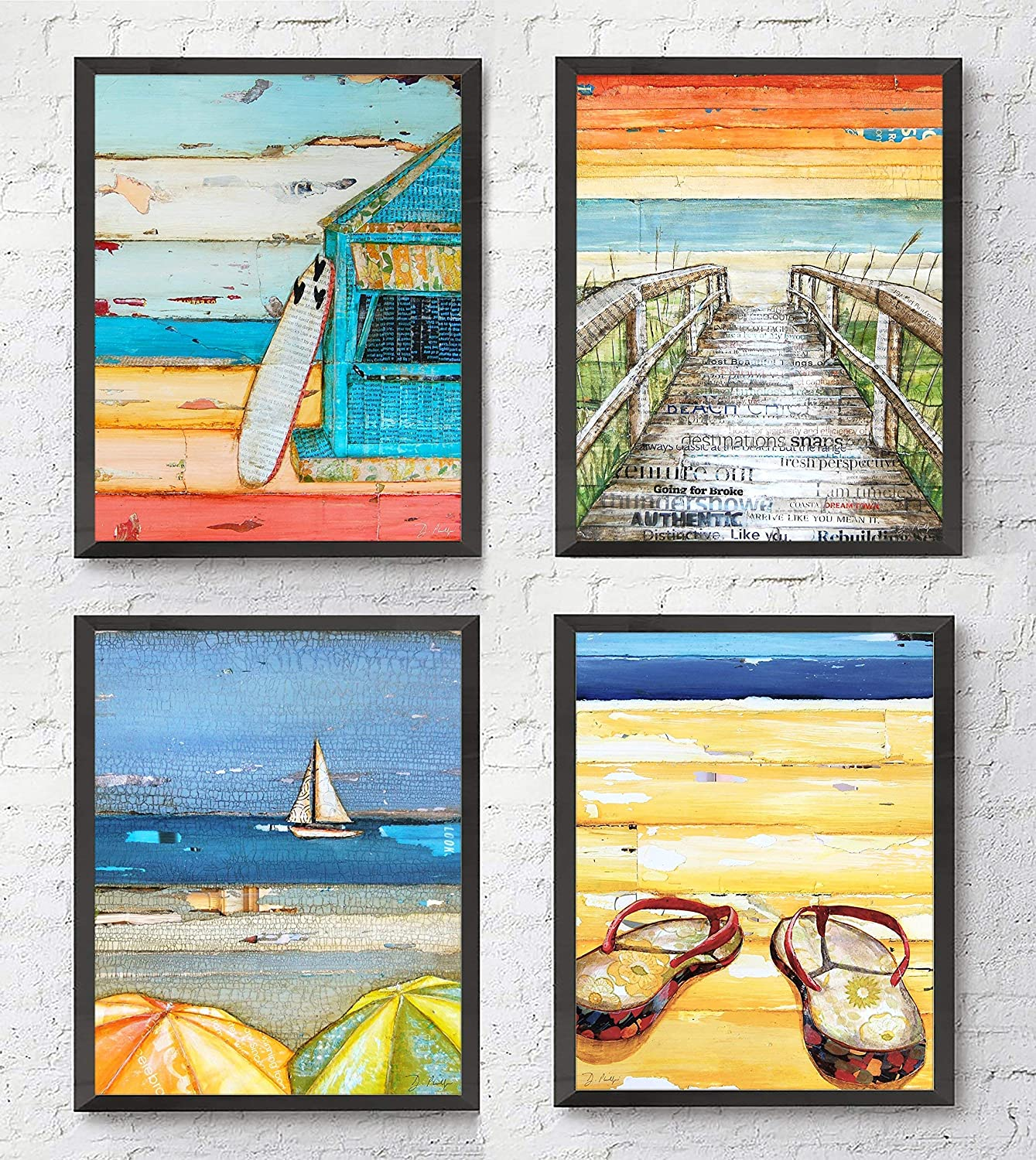 Summer Beach Art Prints