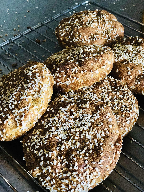 Amazon Com Halal Hamburger Buns Keto Low Carb Gluten And