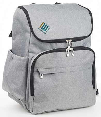 Amazon.com: Weekender Bags for Women and Men - Backpack Style for Greater Travel Freedom, Grey, BE Backpack Equip: Computers & Accessories