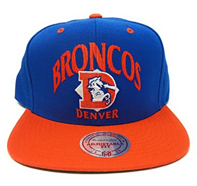 fe5352da Mitchell and Ness NFL Denver Broncos Grand Arch Snapback Hat at ...