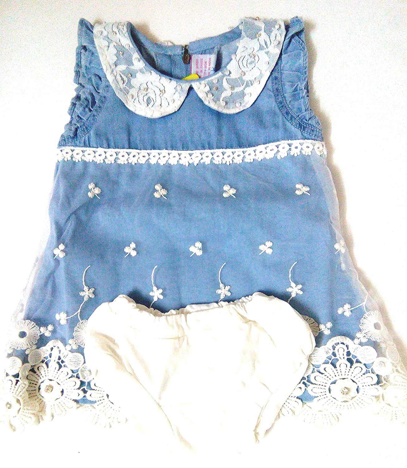 Buy PARTYWEAR BABY GIRL DENIM DRESS line at Low Prices in India