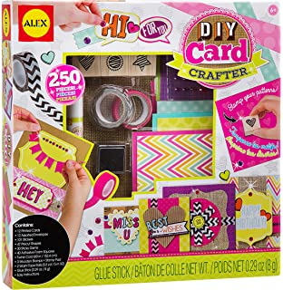 Amazon 4m make your own greeting cards kit toys games alex toys craft diy card crafter m4hsunfo