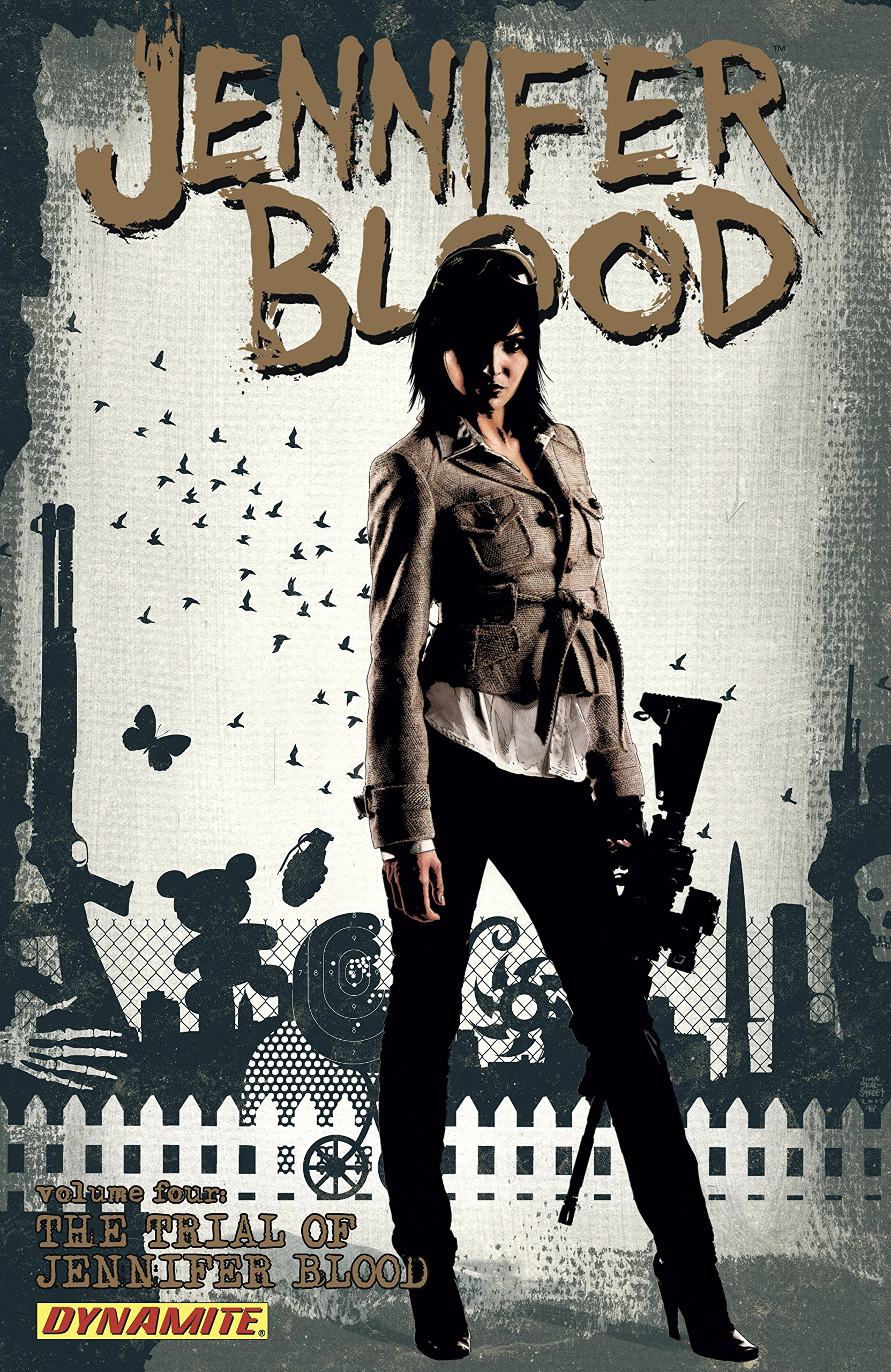 Garth Ennis' Jennifer Blood Vol. 4: The Trial Of Jennifer Blood (English Edition)