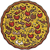 Stellar Factory Pizza Puzzles: Meat Lover's - A Challenging & Cooperative 550-piece Jigsaw Puzzle