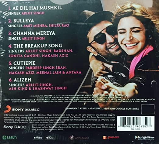 Ae Dil Hai Mushkil 5 hindi 720p download