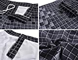 Nonwe Men's Swimwear Grid Printed Quick Dry Swim