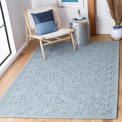 Safavieh Textural Collection TXT101M Handmade Premium Wool Area Rug