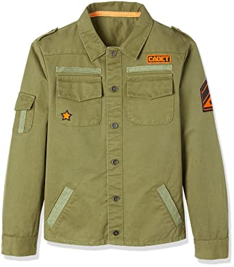 Amazon Marke: RED WAGON Jungen Military Jacke: