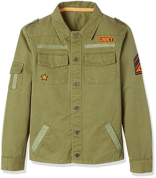 check-out 8e79b c7da0 RED WAGON Giacca in Stile Militare Bambino