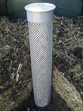 Compostador ventilación Turbo Compost mediante Oxígeno anreicherung – Evita olores: Amazon.es: Jardín