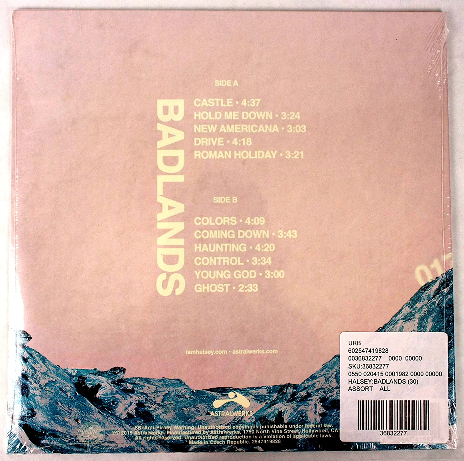 BADLANDS - Alternative Album Artwork Special Limited Edition