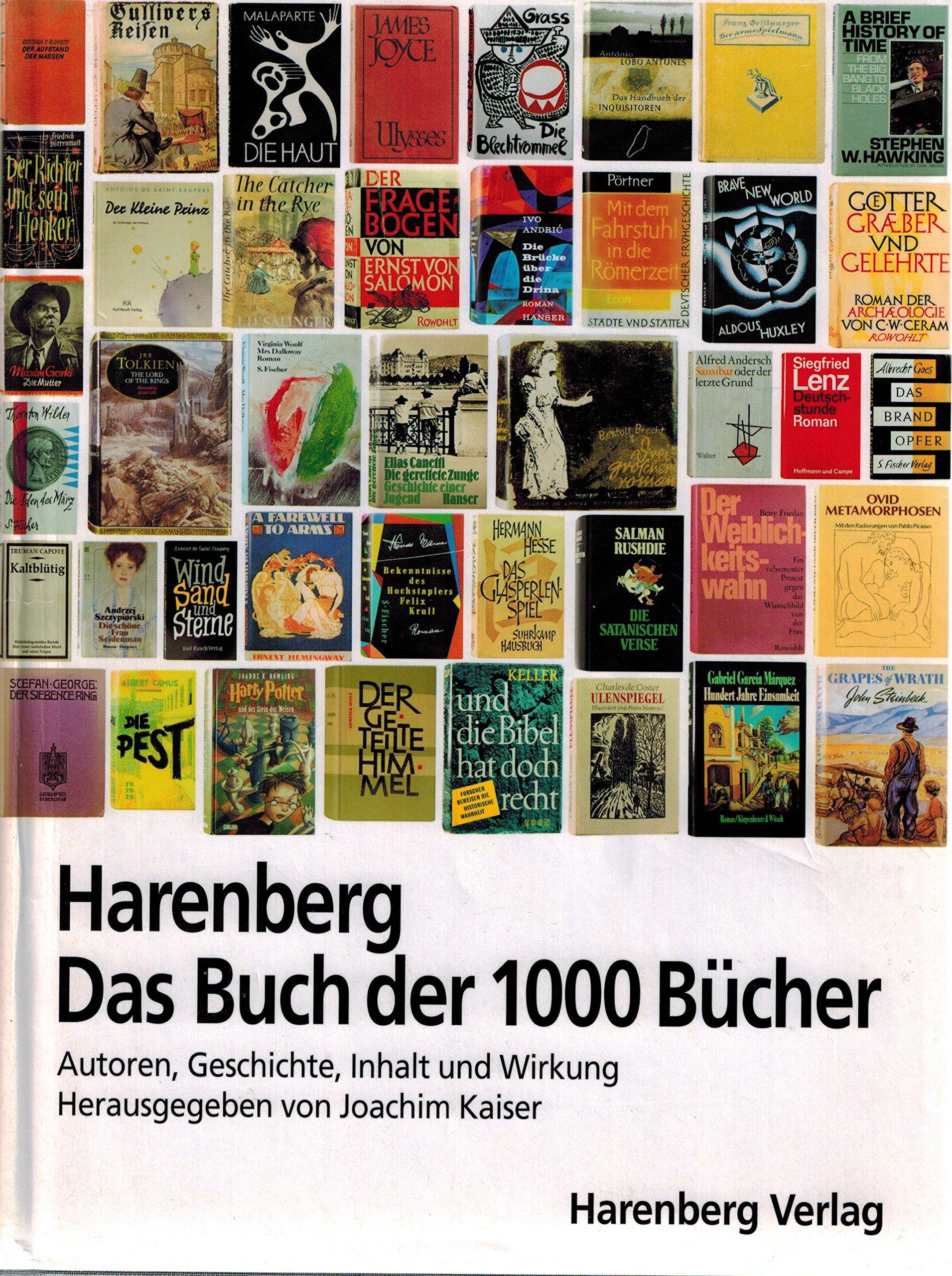 Harenberg. Das Buch Der 1000 Bücher