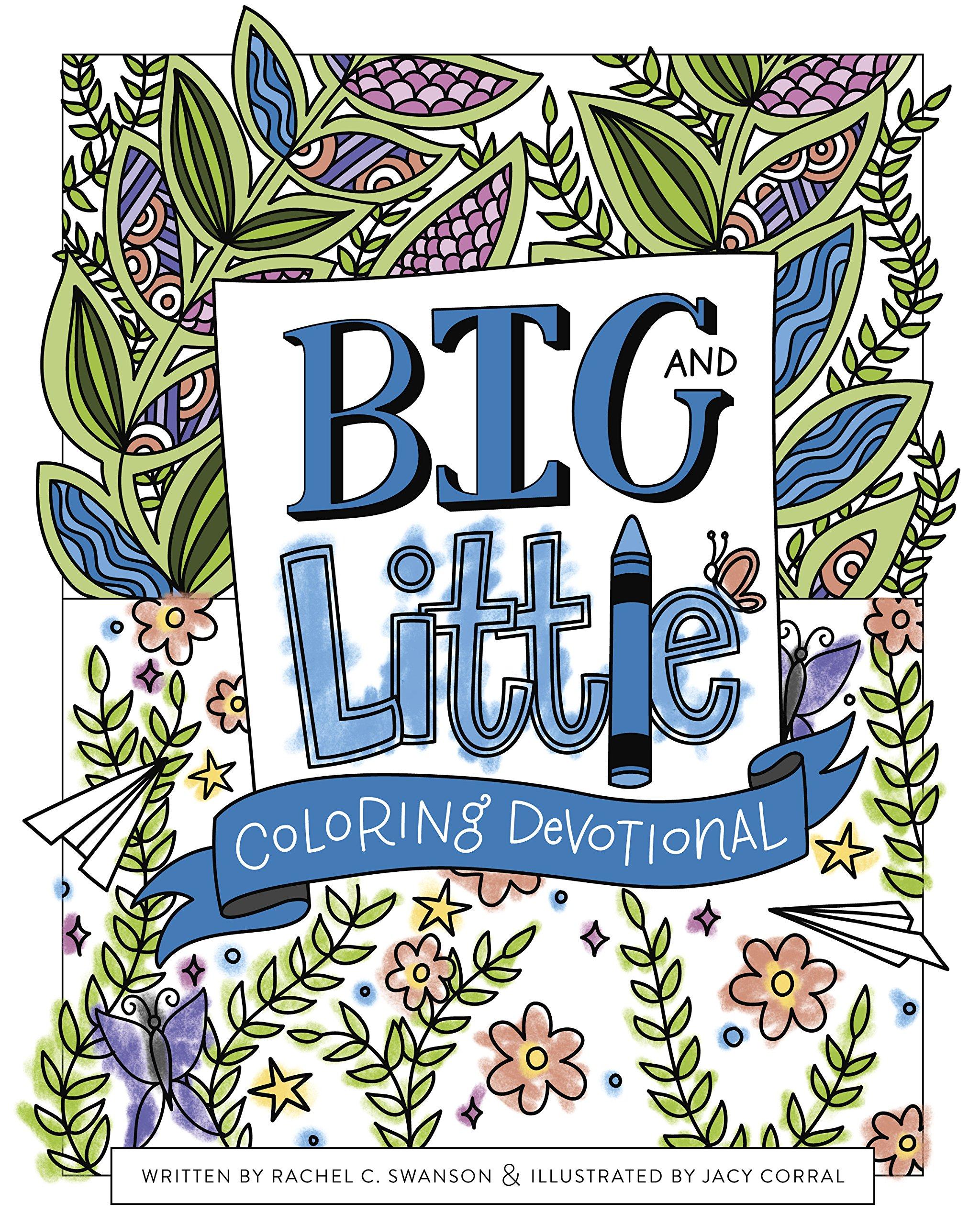 Amazon.com: Big and Little Coloring Devotional (9781462749768 ...