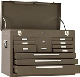 product image for Kennedy Manufacturing 3611B 11-Drawer Machinist's Chest with Friction Slides, Brown Wrinkle