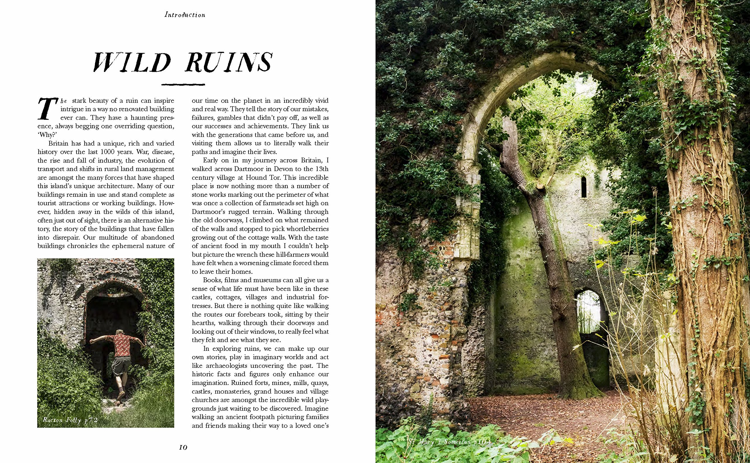 wild ruins the explorer s guide to britain lost castles follies